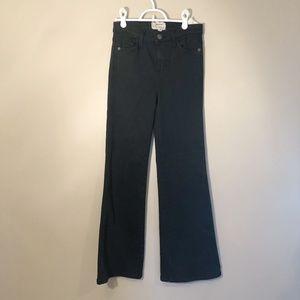 Current/Elliott | Black Flare Jeans Sz 26
